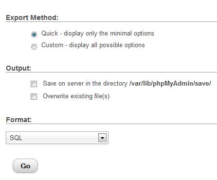 export-settings