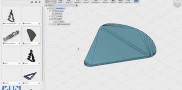 How to import a STL file in Fusion 360